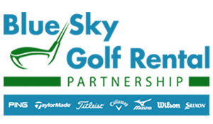 Blue Sky Golf Club Rental