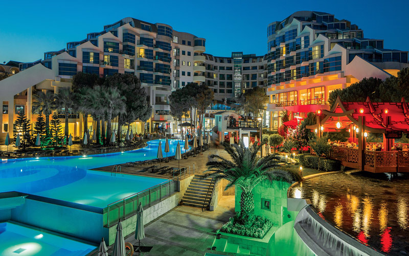 Cornelia Delux Hotel Belek all inclusive golf holidays