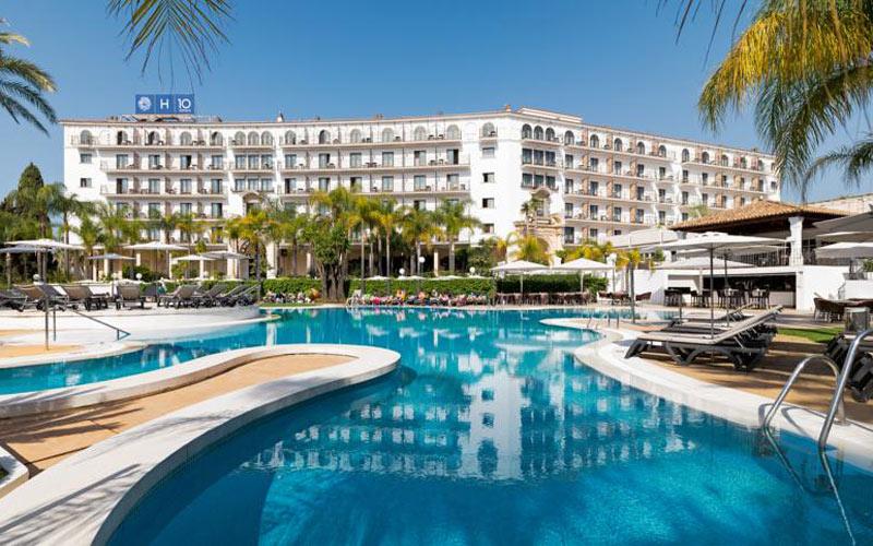 H10 Andalucia Plaza Hotel Marbella costa del sol golf holidays