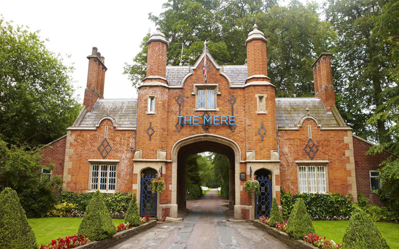The Mere Golf Cheshire north west golf breaks