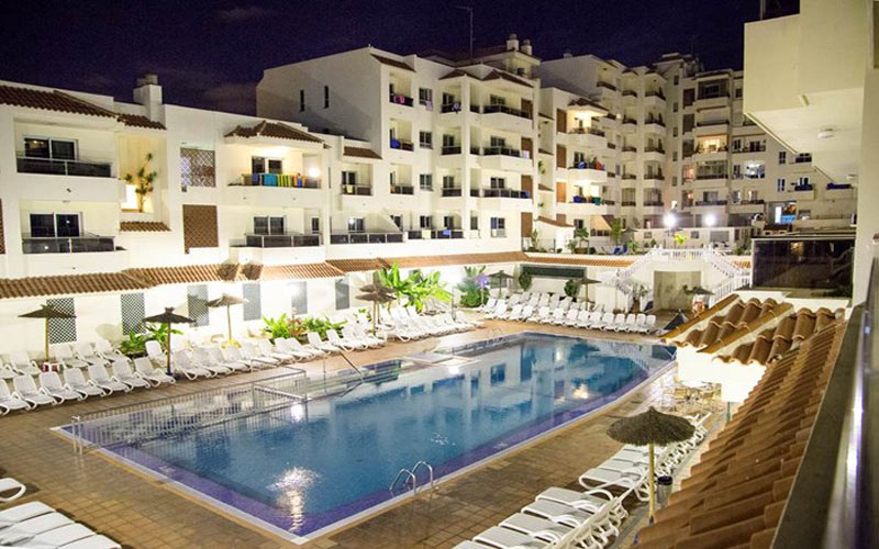 Oro Blanco Apartments Tenerife golf holidays