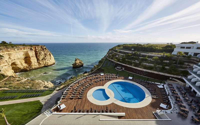 Hotel Tivoli Carvoeiro Algarve portimao golf holidays carvoeiro golf breaks