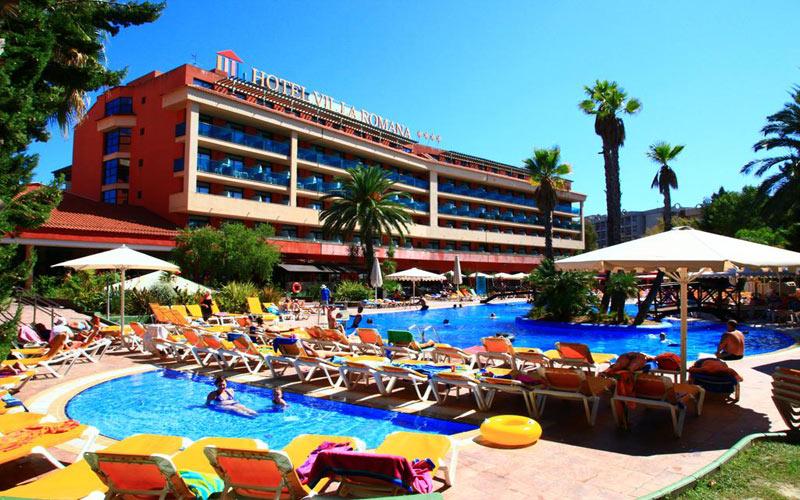 Villa Romana Hotel Catalonia costa dorada golf holidays