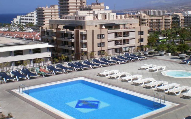 Zentral Center Hotel tenerife golf holidays