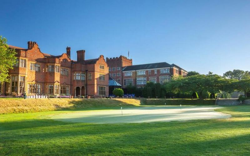Hanbury Manor Golf Course hanbury manor golf breaks
