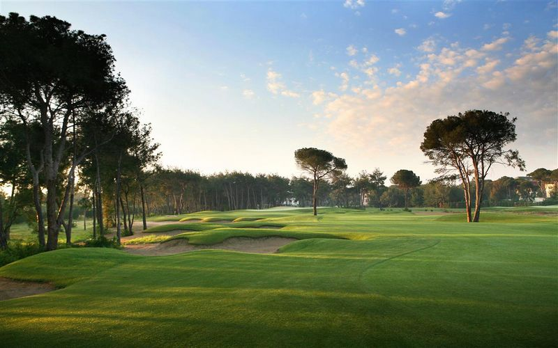 Montgomerie Golf Course Turkey
