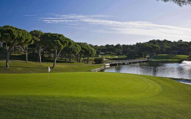 Quinta do Lago Golf Course Algarve Portugal
