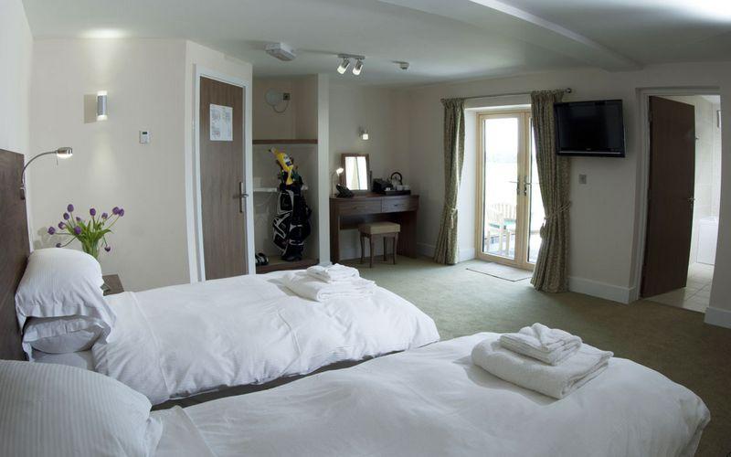 Lodge at Prince's Twin Room