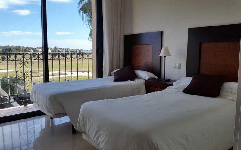 roda golf beach resort twin room
